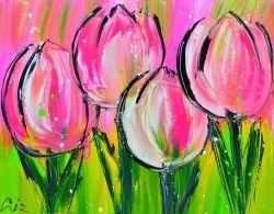 Liz - rose tulpen
