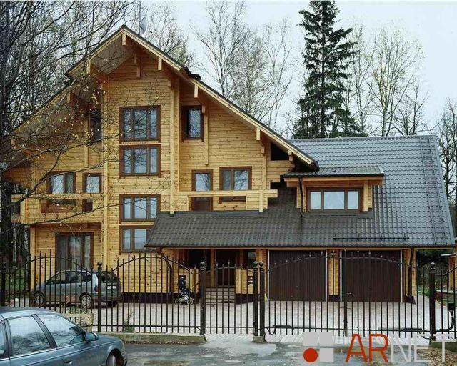 Усадьба для души, дом 405 кв.м