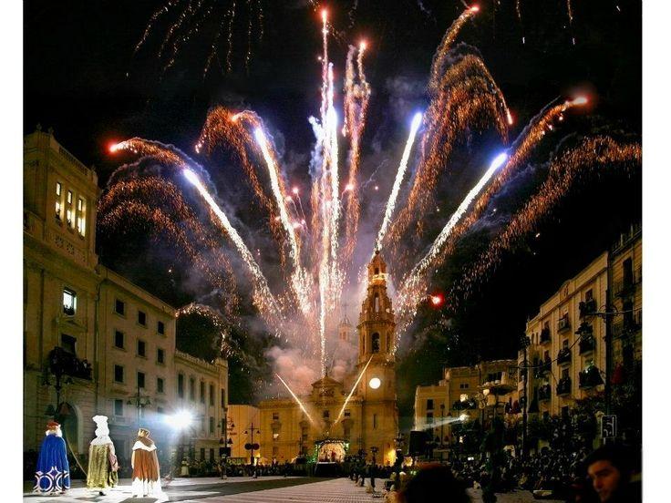 Cabalgata de los reyes magos mas antigua de España, 129 años .En la ciudad de Alcoy, Alicante- España