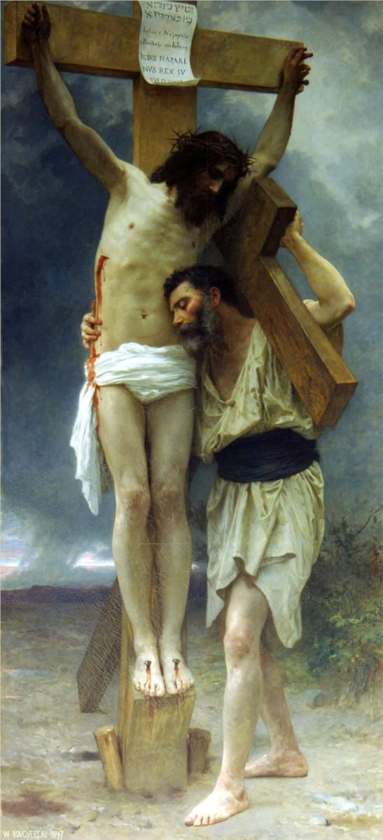 Compassion, 1897  William-Adolphe Bouguereau