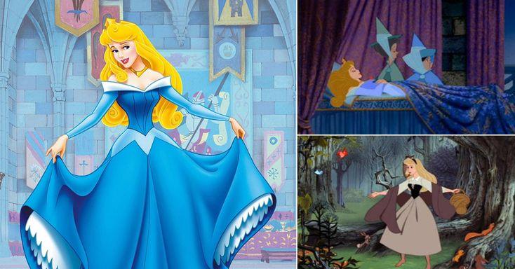 Aurora é a mais inexpressiva das três primeiras princesas Disney, consideradas as clássicas. Ela já nasceu com o casamento arranjado e sua única ação relevante, espetar o dedo na roca de fiar, também já estava decidida, por uma maldição. Afora isso, ela dorme e só acorda na hora de se casar, aos 16 anos, com seu prometido. Os protagonistas de ''A Bela Adormecida'' são, de fato, as três fadas, o príncipe Felipe e a bruxa Melévola, um dos vilões mais assustadores dos estúdios Disney.