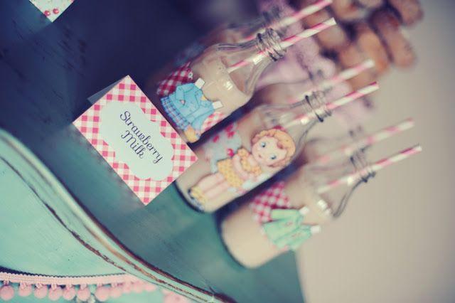 Party Inspirations: Vintage Paper Dolls Birthday Brunch