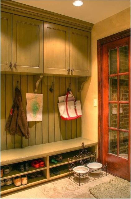 traditional entry The Forgotten – Mud Room