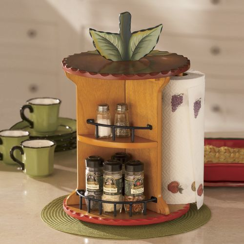 Revolving Countertop Apple Organizer from Ginny's ®.  This is such a great idea!