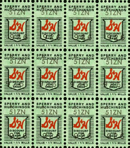 S Green stamps! One full book was like a lottery win (back in the day)