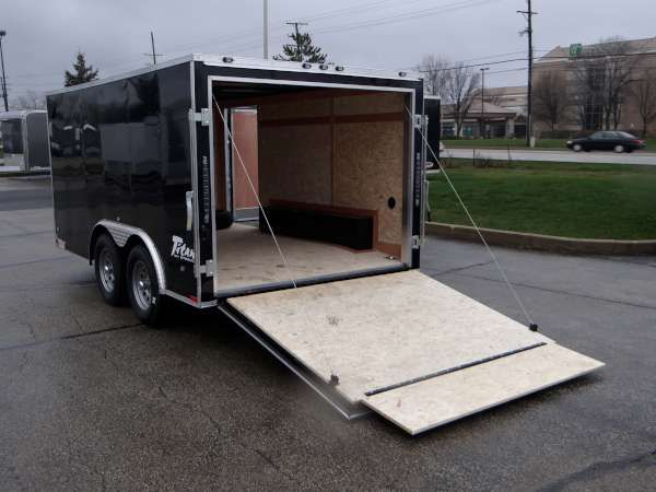 7' x 12' Youth Football Equipment Transport Trailer. This Trailer Was Built To Allow Our Client To Transport Equipment For Youth Football Teams. Call for more information on this trailer. Ref # E048203 | Advantage Trailers and Hitches