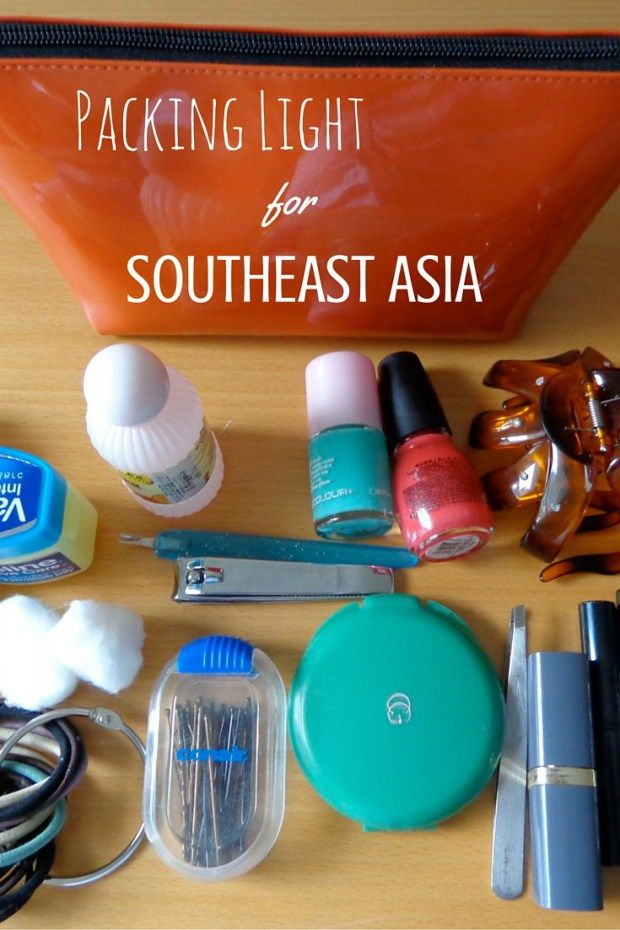 Southeast Asia is one of the most well-trodden backpacker trails in the world - and for a good reason! Don't be one of those people lugging 80 liters on your back in the humid tropical heat. Check out these tips on how to pack light for your trip to Southeast Asia.
