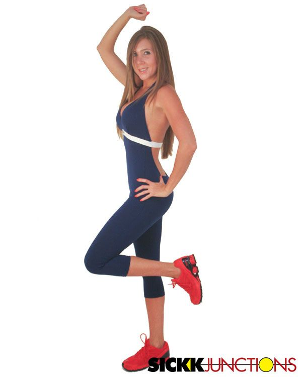 Beautiful Brazilian Workout Wear Wave Jumpsuit This Design Was Created To Make