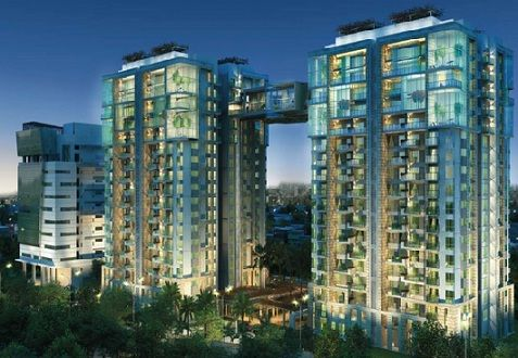 RMZ Latitude rises high above the city's skyline. Two lafty towers pierce the horizon, meeting across a bridge 160 ft above ground, nestled in acres of manicured greens. Spacious 4 bedroom homes, Read More.. http://www.fabideal.com/bangalore/hebbal/261/residential-apartment/4-bhk/rmz-latitude