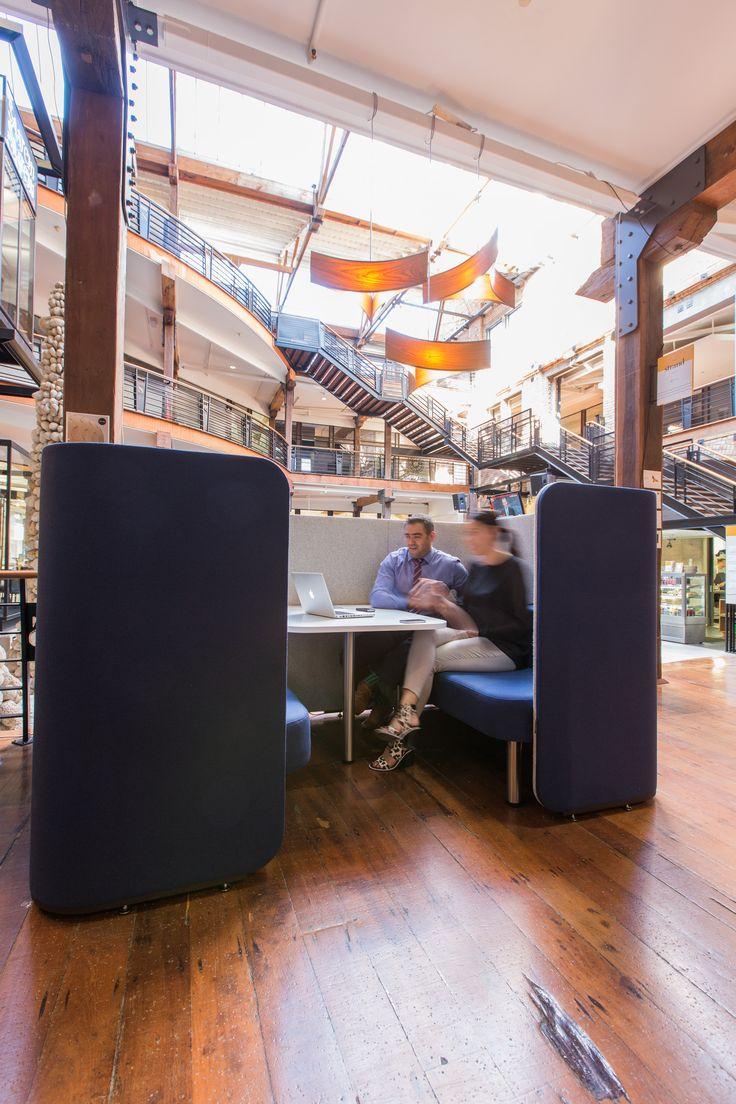 WorkTools - IQ Commercial Collaboration Pod at Urbis Design Day 2015 www.worktookswork.com