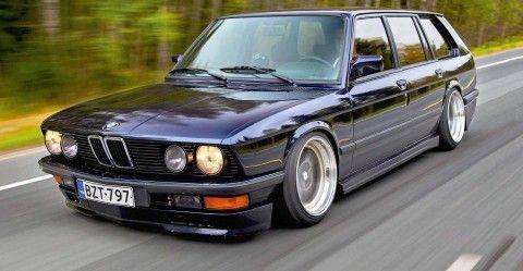 Ultra-rare BMW 535i Touring E28