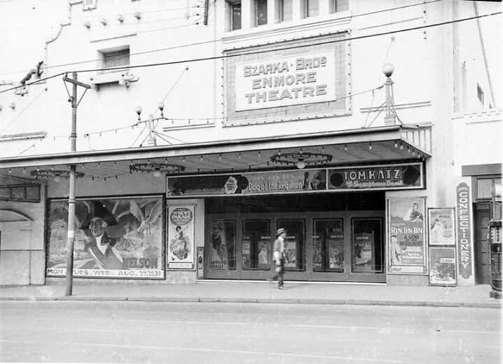 Enmore Theatre in 1927. Photo taken by Sam Hood.A♥W