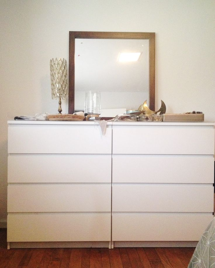 Malm drawers side by side google search bedroom ideas for Ikea wohnwand weiay
