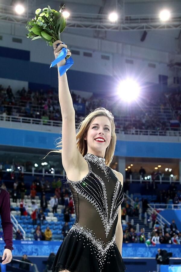 I love the way she holds her victory. I'll always admire Ashley Wagner for both her confidence and radiance!
