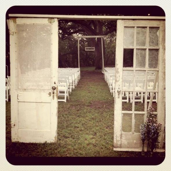 Outdoor Wedding Ceremony Doors: 11 Best Images About WEDDING DOOR DECORATIONS On Pinterest