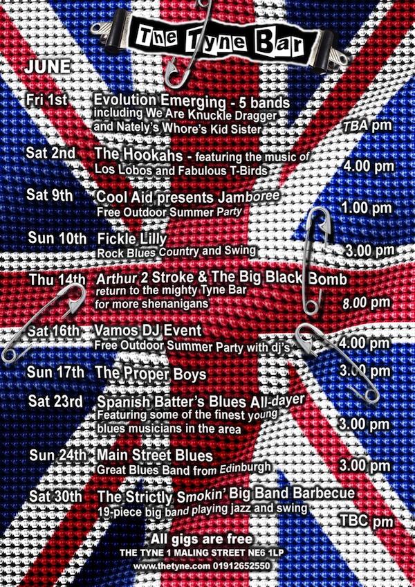 The-Tyne-Bar-Free-Gigs-Newcastle-June-2012