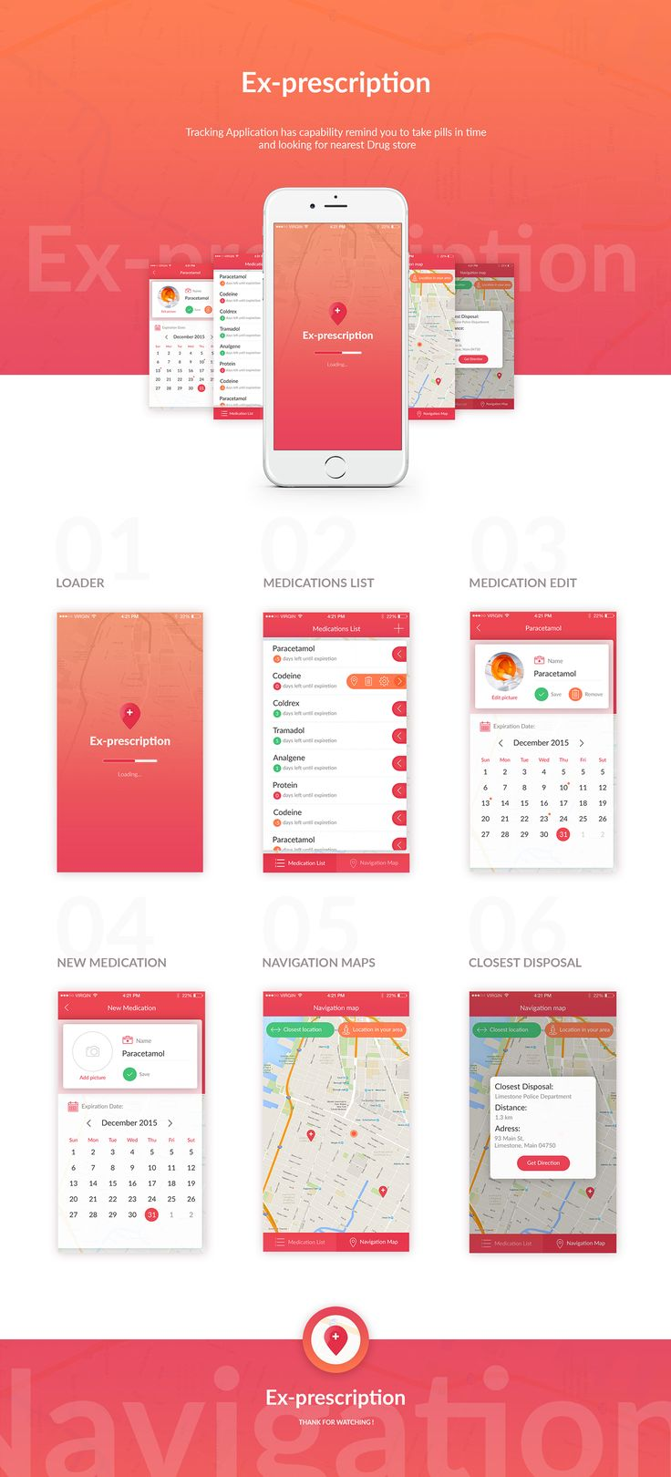 Tracking APP on Behance