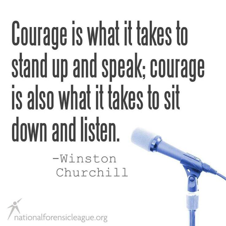 essay speaking courage Speak essay essays: atticus finch courage essay courage courage to care courage courage to kill a mockingbird essay -emotional/moral courage in speak.