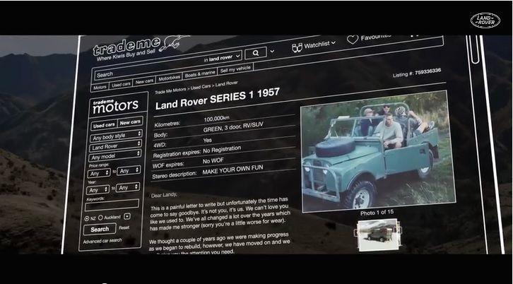 廃車寸前の愛車を買い取り、新品同様に修理してプレゼント!Land Roverのバレンタインドッキリ