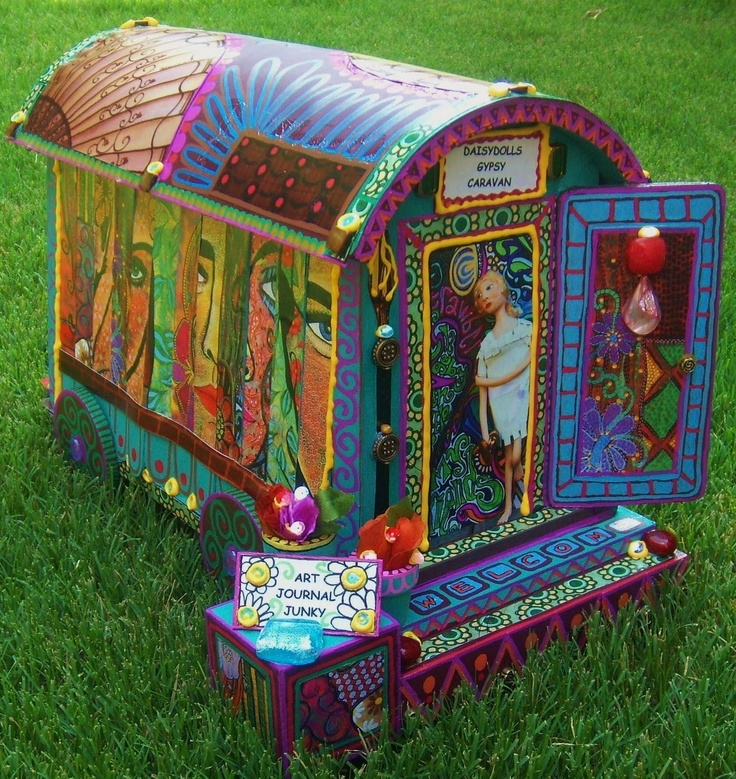 how to make an easy gypsy wagon