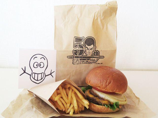 ISETAN×ルパン三世 #伊勢丹のアジトに潜入せよ 銭形警部の張り込みハンバーガー