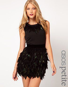 #asos                     #Skirt                    #ASOS #PETITE #Exclusive #Dress #With #Feather #Skirt #asos.com               ASOS PETITE Exclusive Dress With Feather Skirt at asos.com                                              http://www.seapai.com/product.aspx?PID=1462213