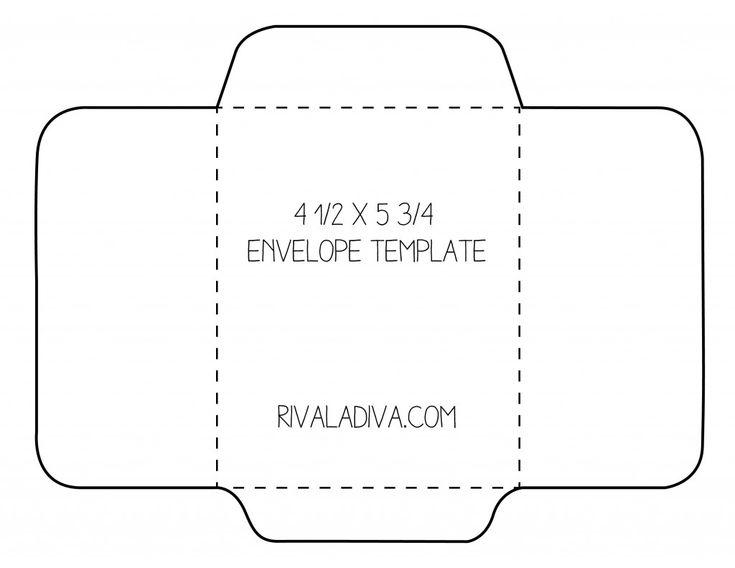 Best  Diy Envelope Template Ideas On   Diy Envelope