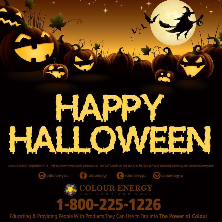 Happy Halloween from all of us at Colour Energy #colourenergy #happyhalloween