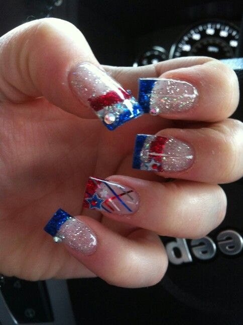 2017 best 4th of july americana patriotic images on pinterest for 4th of july nail art decoration flag