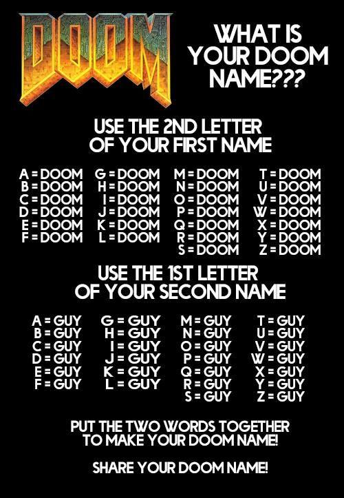 DooM name generator