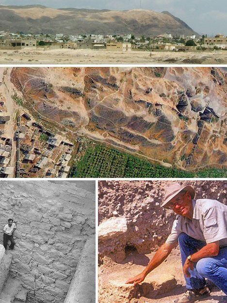 """The ancient city of Jericho is the world's oldest walled city, with evidence of stone fortifications dating back nearly 9,000 years; long before the """"walls came tumblin' down"""" events depicted in the Bible. Archaeological digs have turned up traces of habitation that are even older: up to 11,000 years ago!"""