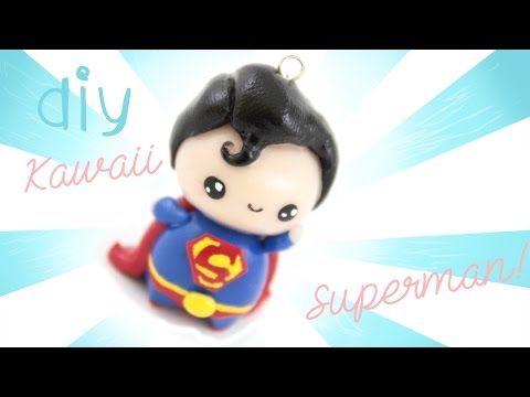 ♡ DIY Chibi Superman in Polymer Clay! ♡ | Kawaii Friday - YouTube