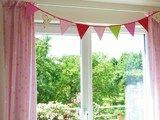Lustige Wimpelkette – macht das Kinderzimmer bunter. Dies ist genug für ein pa …   – Wimpelkette für's Kinderzimmer