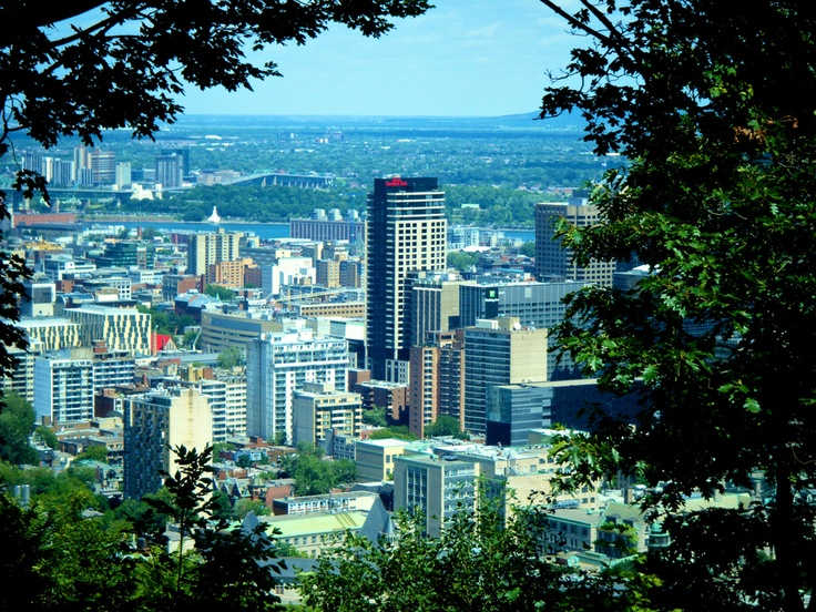 It is my city. Montreal. Quebec. Canada