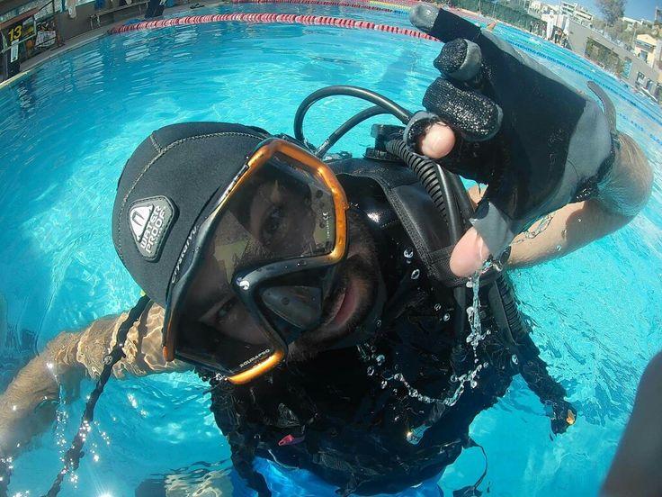 Let's have fun, let's go diving!  #sealsdivingcenter #scubadiving #padi #greece