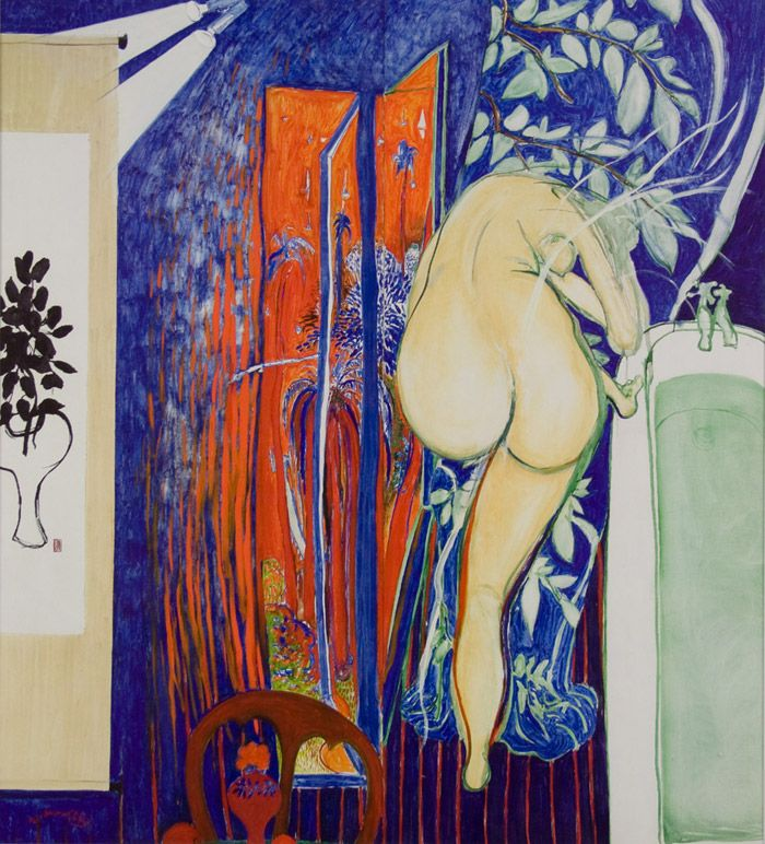 Brett Whiteley THE Bathroom Window Stunning Australian Decorative ART Print | eBay