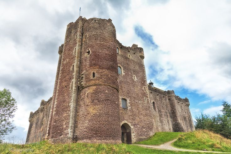 Doune Castle in Scotland.