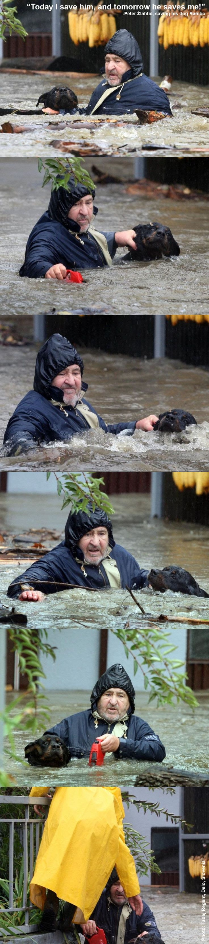 Recent floods in Slovenia - Imgur