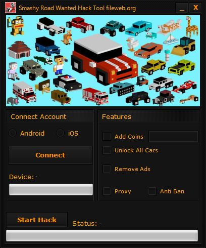 Smashy Road hack v2.5 cheats tool unlimited Money, gain advantage easily, directly in your browser. Do not hesitate is free! You can download now Smashy Road hack cheats tool. This cheat tool is available for your Android or iOS device, it has a user-friendly interface and is easy manageable. Instructions for beginers on how to …