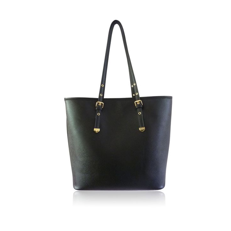 Černý shopper bag LYDC London