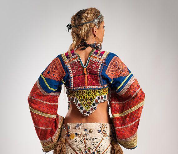 Tribal Belly Dance Top Tribal Choli Ats Choli Ethnic