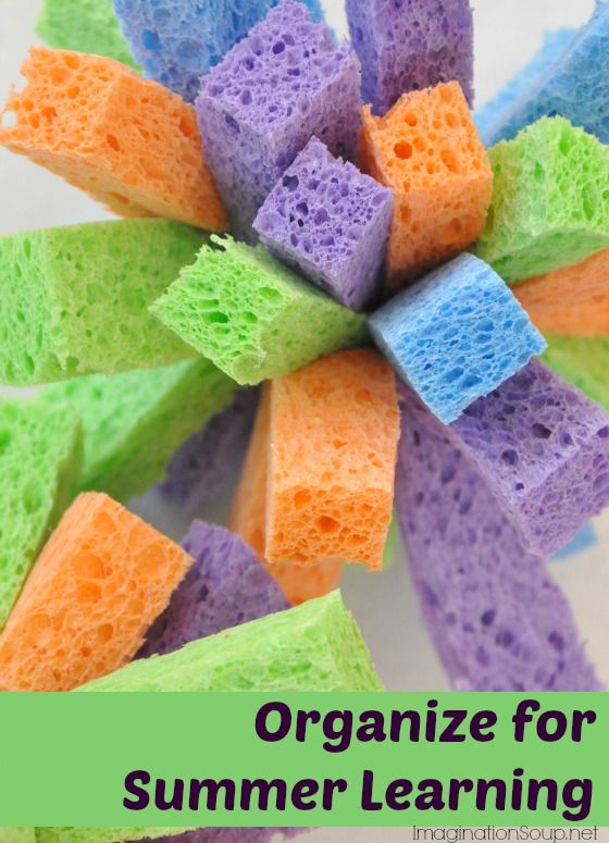 4 Essentials for Summer Learning & Organization