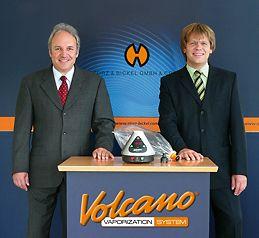 Markus Storz & jurgen Bickel, creators of the Volcano Vaporizer