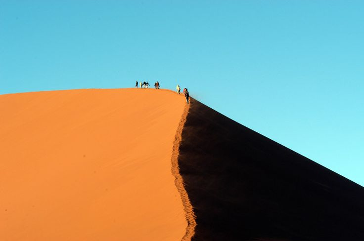 This week's Big Picture winner – and recipient of a Nikon Coolpix S9300 camera worth £299.99 – is Pauline Litton of Harrogate, North Yorkshire, with this image of climbers negotiating Dune 45 in Sossusvlei, Namibia.