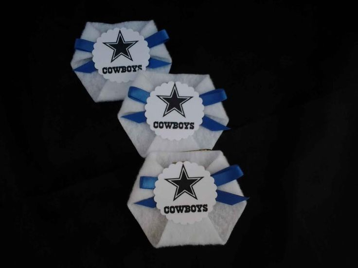 48pc Dirty Diaper Game Baby Shower Sport Theme Favors Dallas Cowboys
