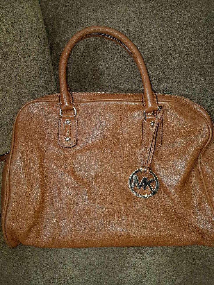 brown Michael Kors leather handbag in Edmonton - letgo