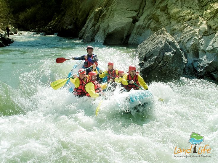 Have you ever done rafting in Greece? If no, you should visit Lousios river via LandLife and feel excited from this amazing experience