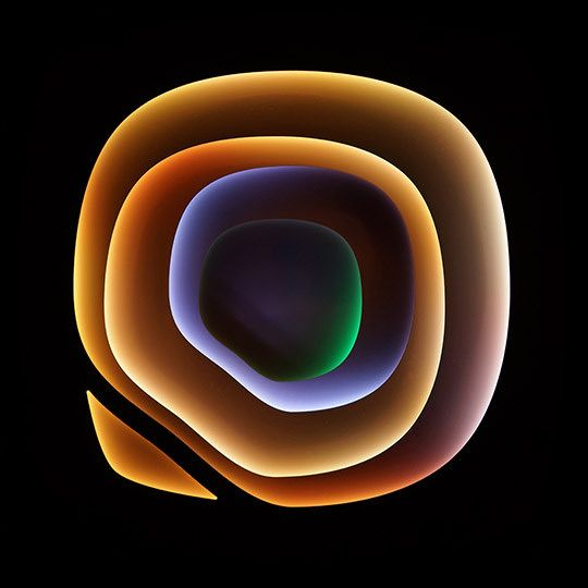 """Craig Dorety - Collapsed Hyperbolae - Tiger on Green Grass; 48"""" x 48"""", Birch Plywood, animated LED lights  http://www.youtube.com/watch?v=oCXOOCuD9Tk"""