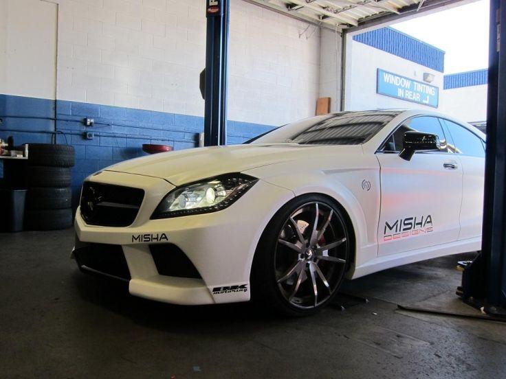 Misha Designs #Mercedes CLS