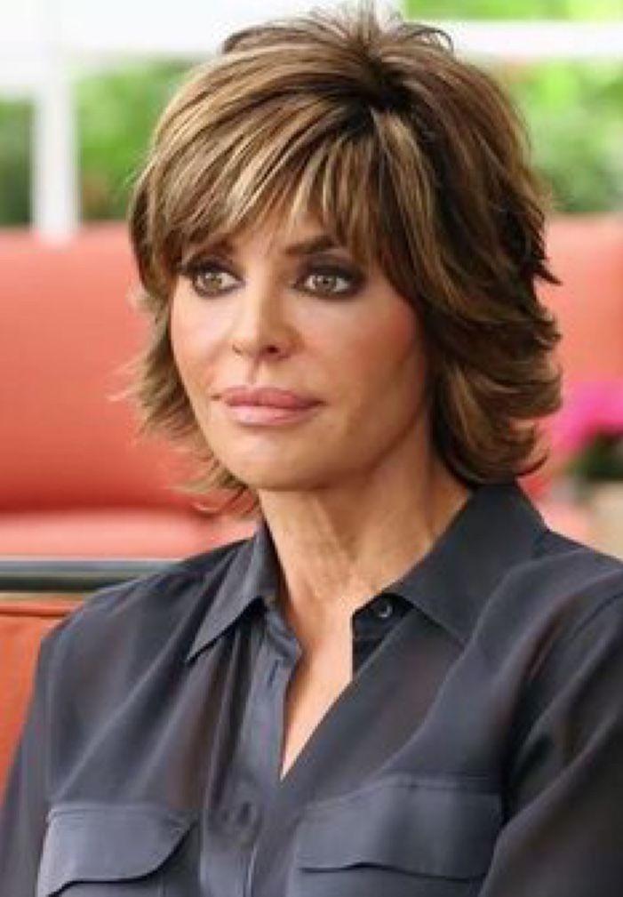 Pin By Diane Schipono On Hair Lisa Rinna Haircut Thick Hair Styles Lisa Hair